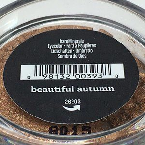 bareMinerals  Eye Color Beautiful Autumn